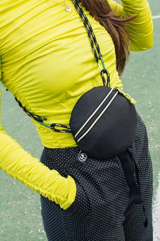 Circle Babybag BLACK